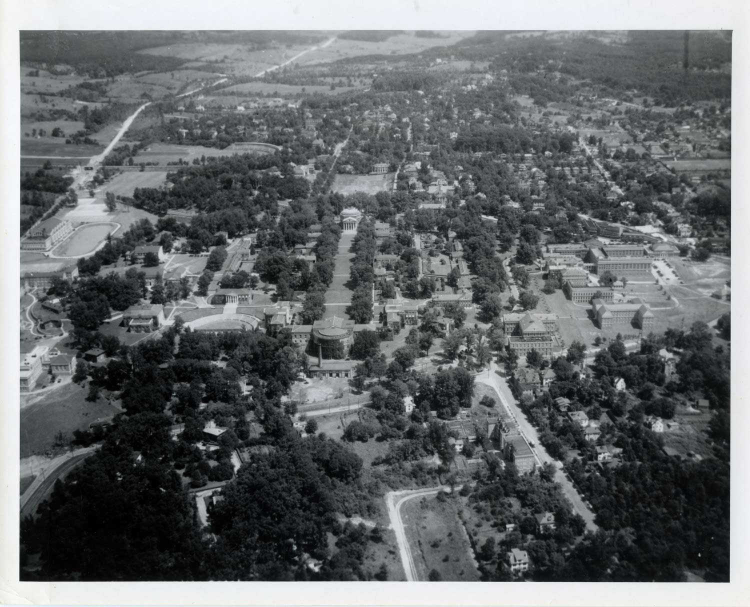 Aerial View of Grounds, 1934