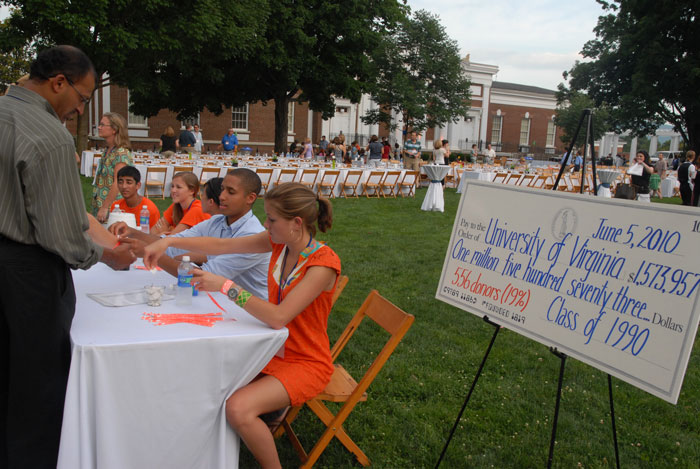 Alumni show support for UVA with a class gift
