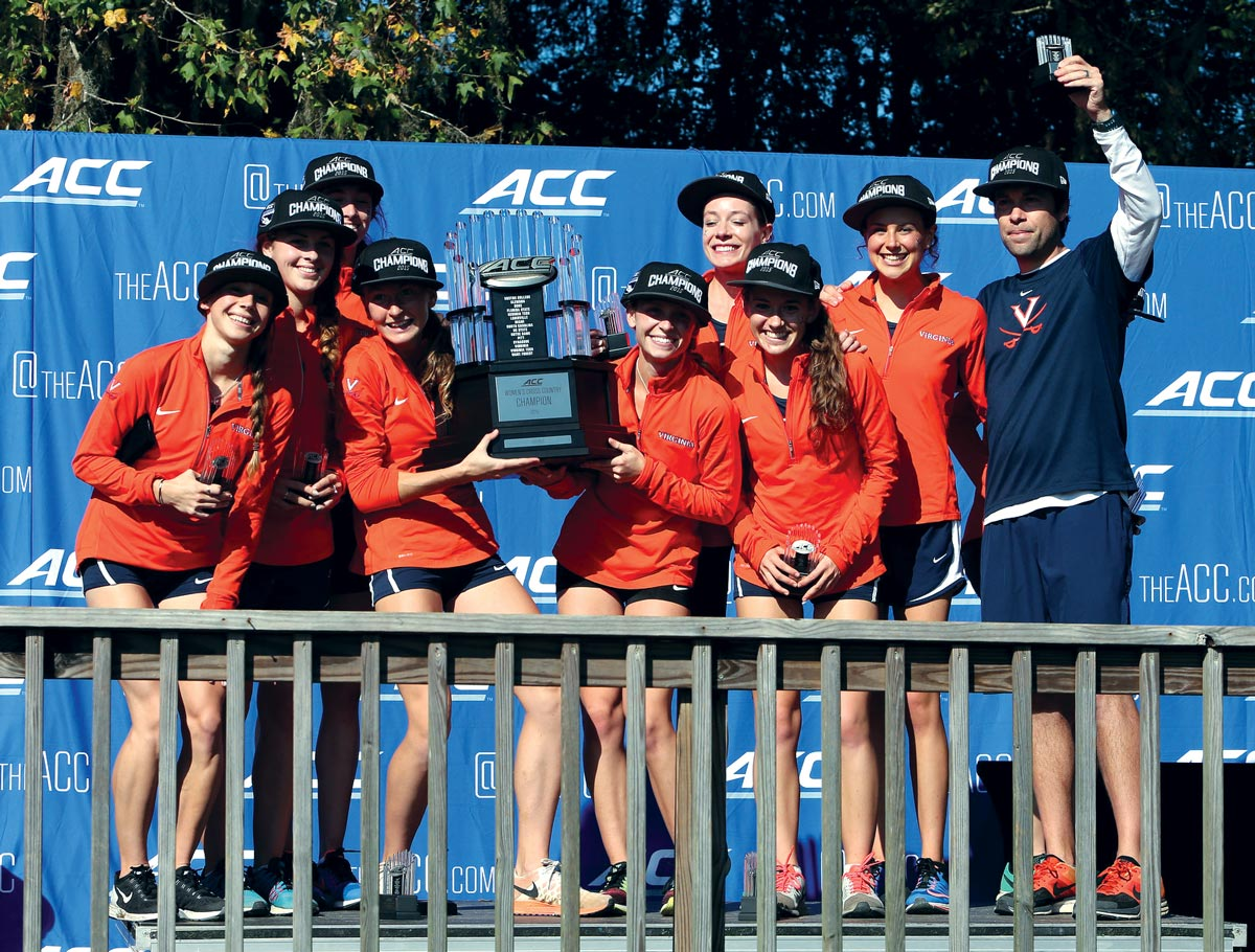 Women Win Third ACC Cross Country Championship